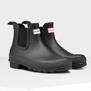 Hunter Chelsea Boots Ankle Rain Boots